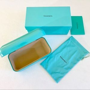 XL Tiffany & Co sunglasses bag, case, box